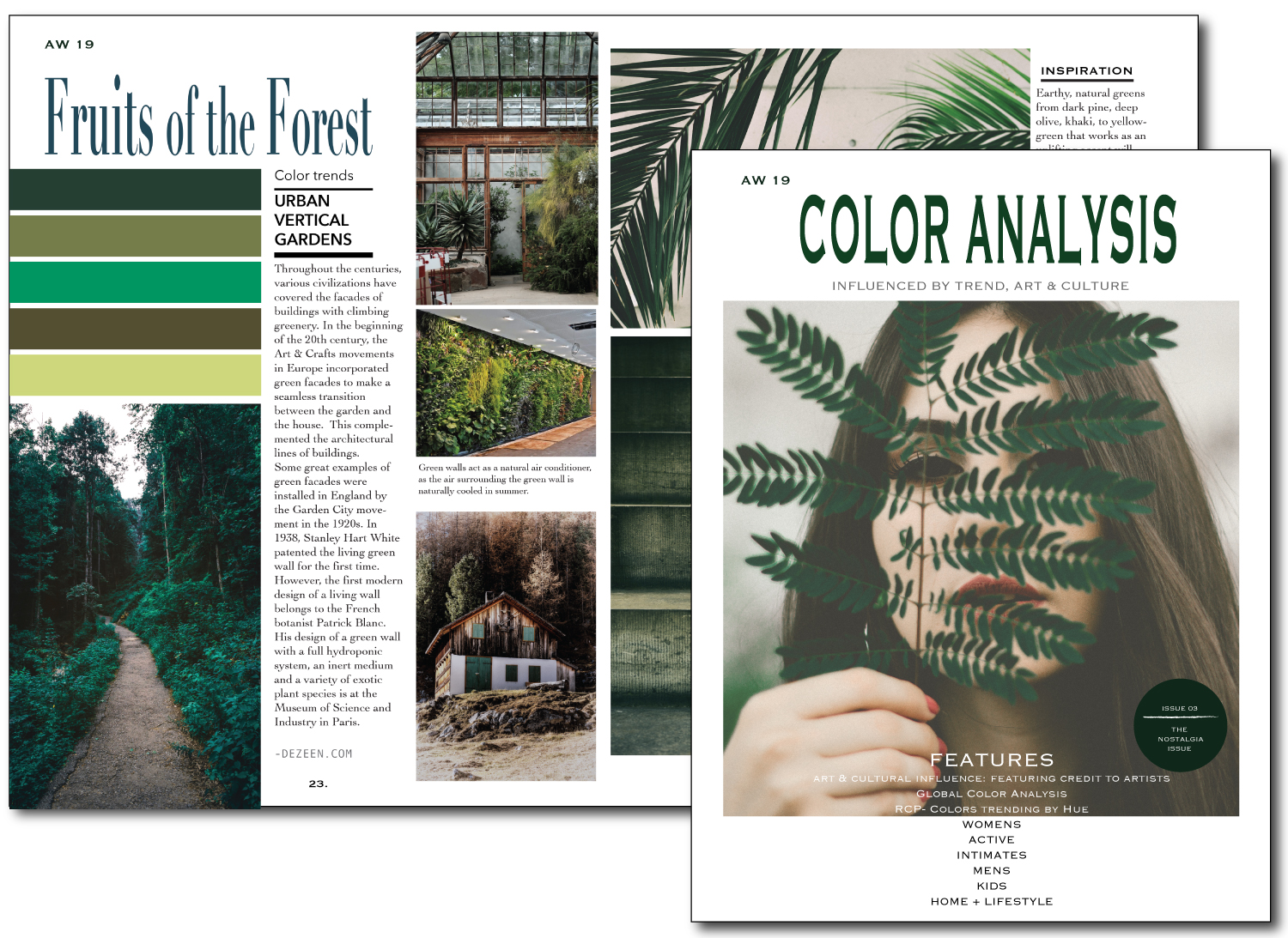 Color Analysis – the Color Trend Magazine for Autumn/Winter