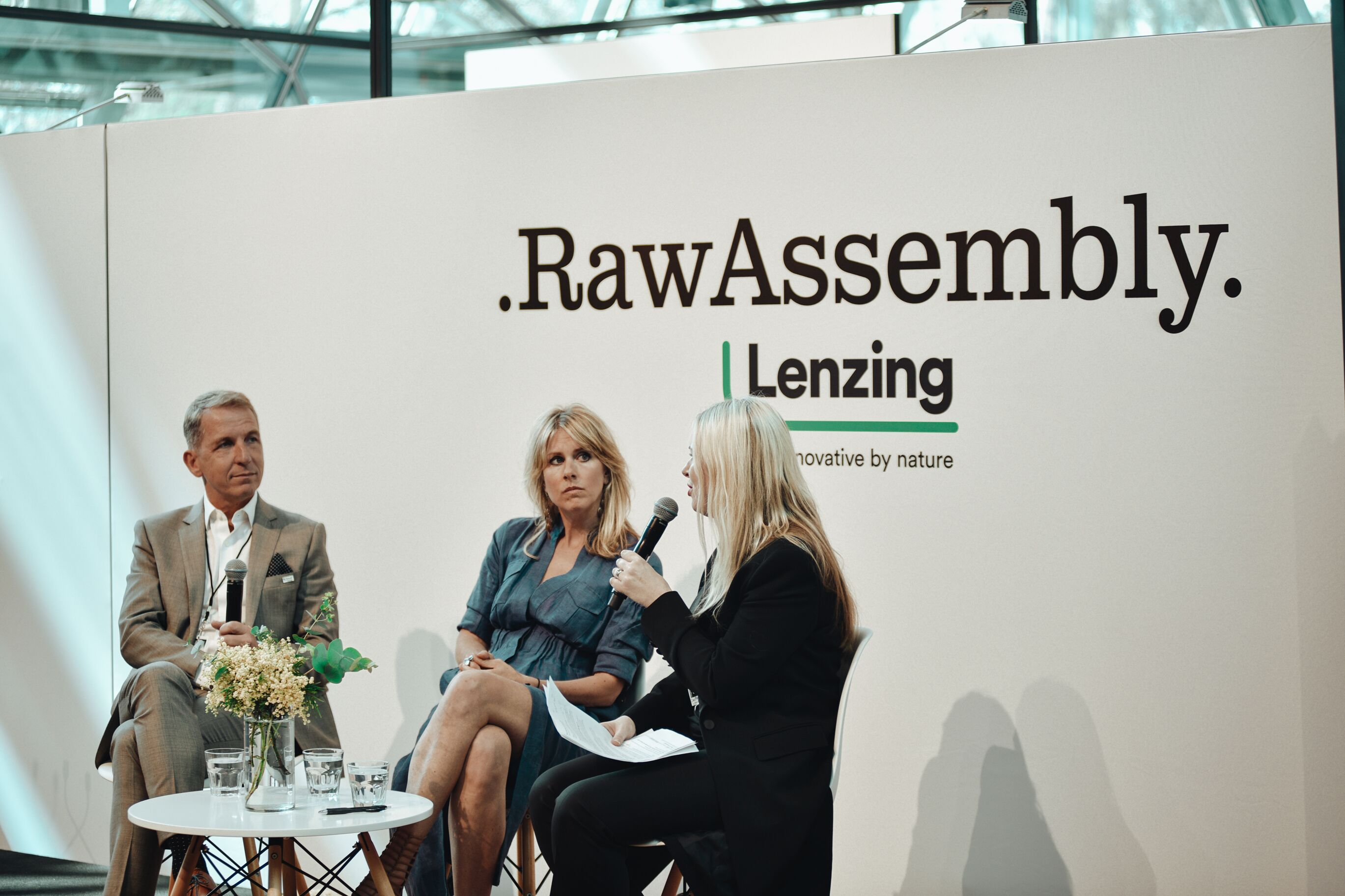Panel discussion led by Clare Press. Image: Raw Assembly.