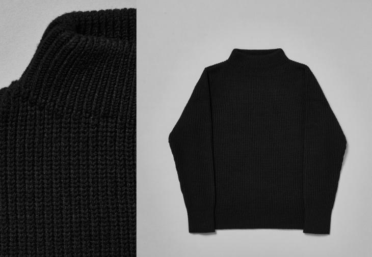 Goldwin x Spiber The Sweater, composition close-up. © Goldwin/ Spiber.