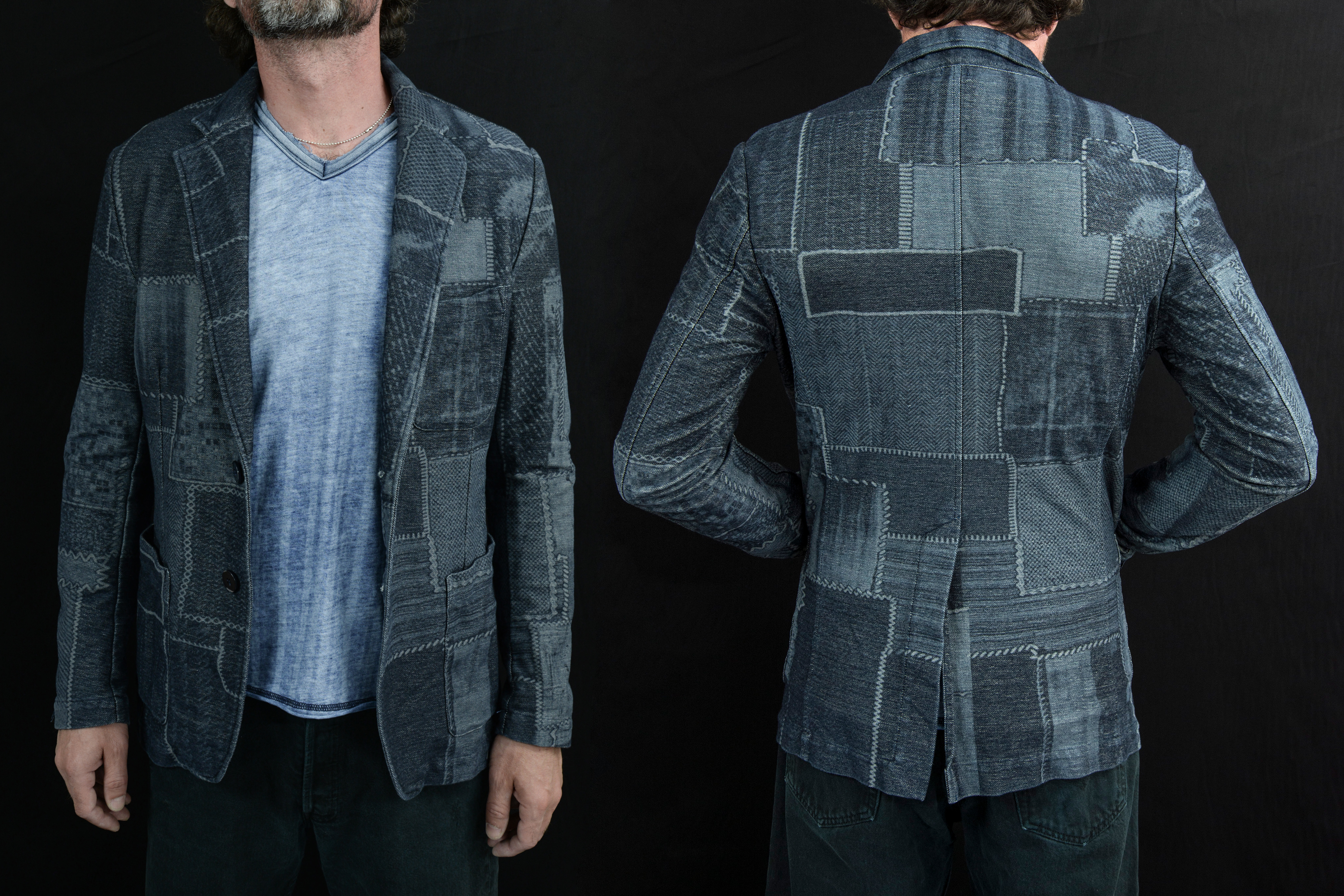 Jeans Knits collection curated by Meidea for Jeanologia.