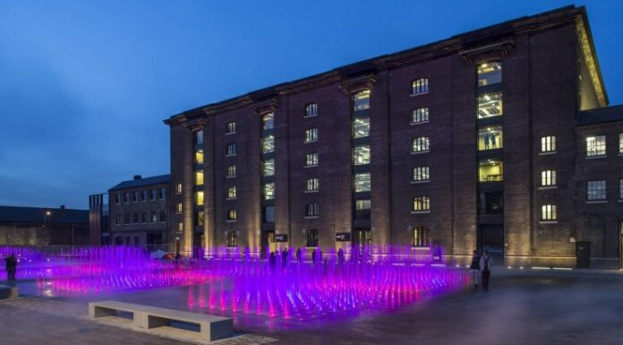 Central Saint Martins (CSM) in London. © John Sturrock for Central Saint Martins College, all rights reserved.