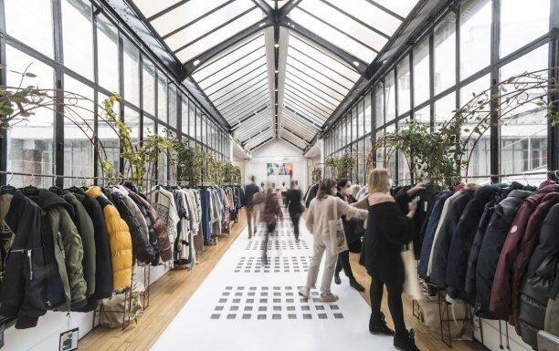 Texworld Evolution Paris - Le Showroom organized at the Atelier Richelieu has kept its promises, Messe Frankfurt says. © Thomas Deron/ Graphics Images.