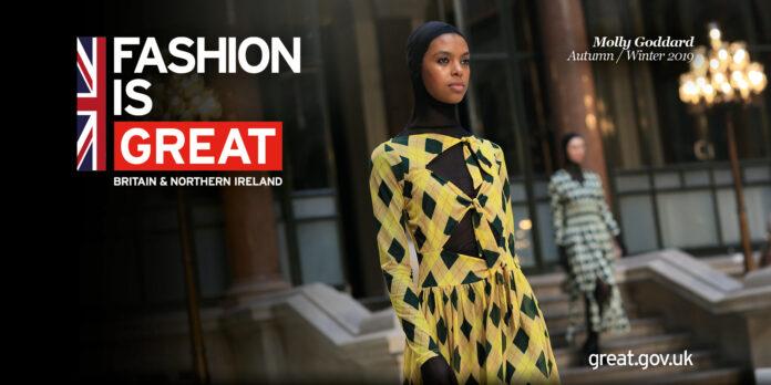 Fashion is Great. Molly Goddard AW 2019. © British Fashion Council.