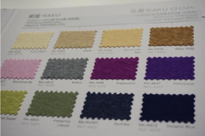 UPW focuses on hemp and cotton with RAKU yarn. Photo credit: Stephanie Lawson