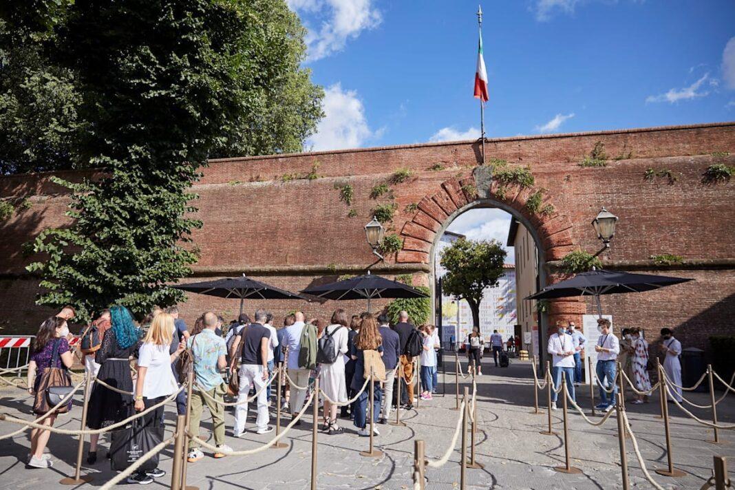 Pitti Uomo opens at Fortezza da Basso once again for SS 2022. © Pitti Immagine
