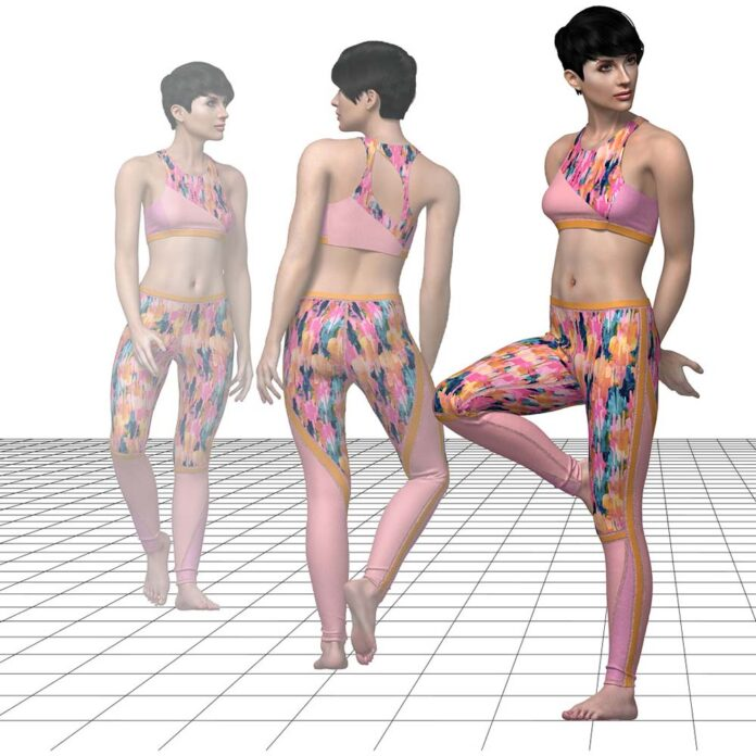 TUKA3D helps create stunning presentations to showcase 3D fit life-like digital collections. ©Tukatech