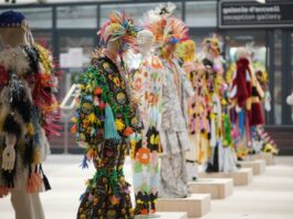 Flamboyant colour and imagination hit PV for 2022/23. © Premiere Vision