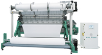Karl Mayer's RSE 4 raschel knitting machine. Image: Karl Mayer