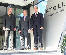 Directors of H.Stoll & Co. (Heinz-Peter Stoll - centre). Images: H.Stoll & Co.