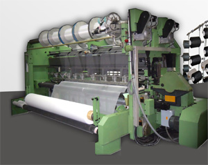 SITM has developed a weft insertion device for tricot machines in E36 gauge