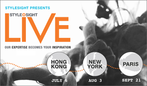Stylesight presents 2011 LIVE Seminar Series Worldwide