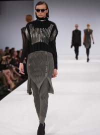 One of Rory Longdon's designs at Graduate Fashion Week - photo by Andy Espin
