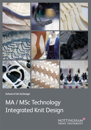 MA / MSc Technology Integrated Knit Design
