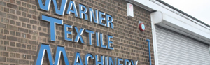 Warner Textile Machinery Ltd, Leicester, UK