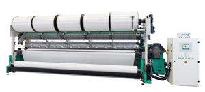 The innovation of the three-bar high-performance tricot machine