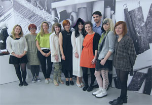 Five world-renowned creative luminaries gathered at Texprint London last week, the presentation of the best new graduate textile designers from the UK, to select the winners of five special prizes