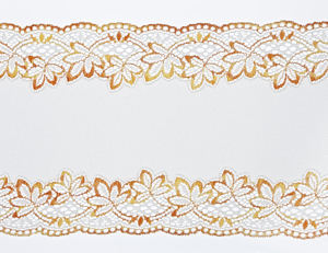 Lace made on a Karl Mayer raschel machine