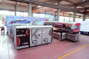 The new investment will compliment Piave Maitex's existing ink-jet printing machines already in operation, bringing the company's digital printing capacity to well over one million meters per annum.