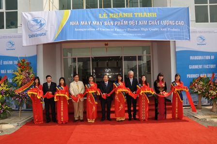 Doximex opens US$16m knitting mill in Vietnam
