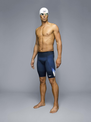 The Speedo FASTSKIN³ collection comprises three tiers of technology that are tailored to the requirements of swimmers of differing abilities and  Lycra fibre has been used across all three levels of the FASTSKIN³ collection.