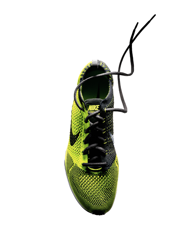 Nike embarked on a four-year mission of micro-engineering static properties into pliable materials. It required teams of programmers, engineers and designers to create the proprietary technology needed to create the knitted upper.