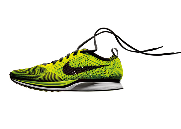 According to Nike, the Flyknit revolutionizes running by rethinking shoe construction from the ground up, informed by athlete insights and employing a new proprietary technology.