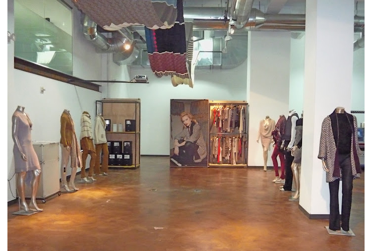 Exhibition space at Stoll Fashion & Technology Center International in New York