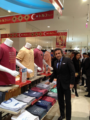 Yeşim Tekstil's presence with apparel products on display marked the Turkish Fair, an event held in Japan as a part of the Turkish Week.