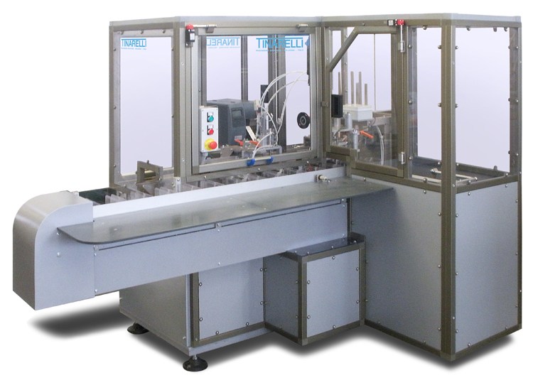 The Micropack SL-G's loading system can be manual or automatic and labelling and direct printing to carton is also possible.