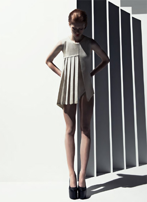 Stoll Trend Collection SS2013- Architectural Knits 1