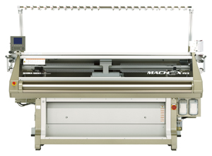 MACH2X153: MACH2X is Shima Seiki's top of the line Wholegarment knitting machine available in ultrafine 18L gauge. It is equipped with 4 needle beds featuring Shima's original SlideNeedle.