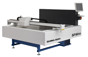 SIP-160F2S is a compact flatbed inkjet printing machine with adjustable printing head height for printing not only on flat fabrics, but on complete Wholegarment knitwear as well.