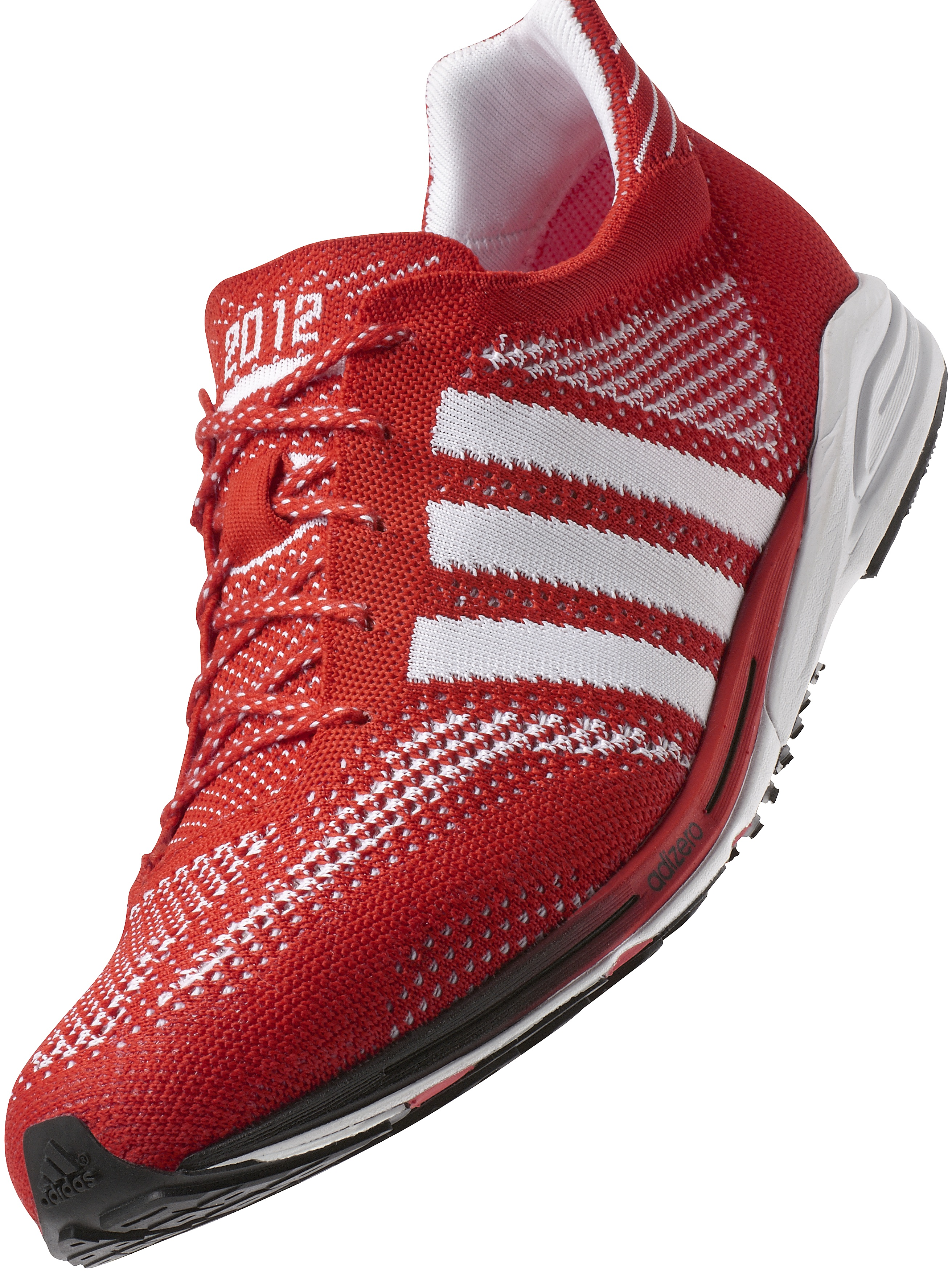 adidas adizero red sports shoes