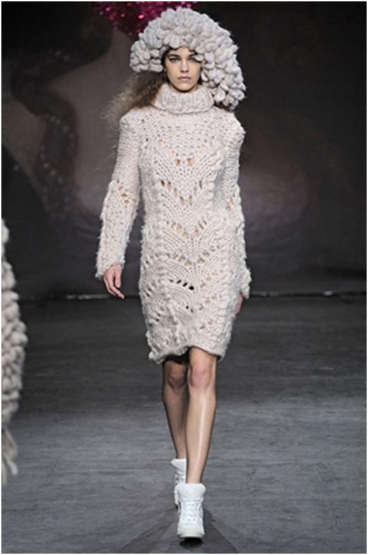 Knitting Fashion Industry Craft : London fashion week highlights