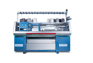 Stoll CMS flat knitting machine
