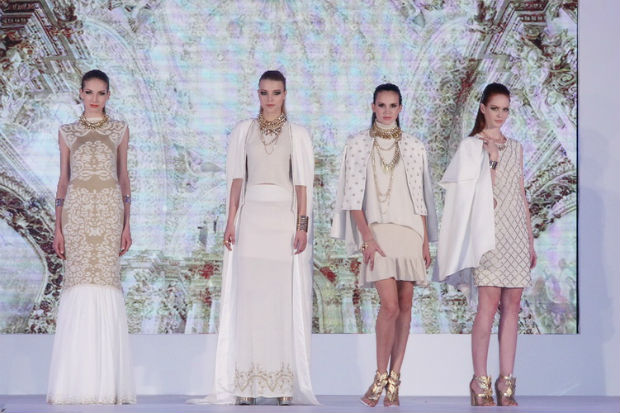 The annual Knitwear Fashion Show has showcased 20 collections of four outfits © PolyU