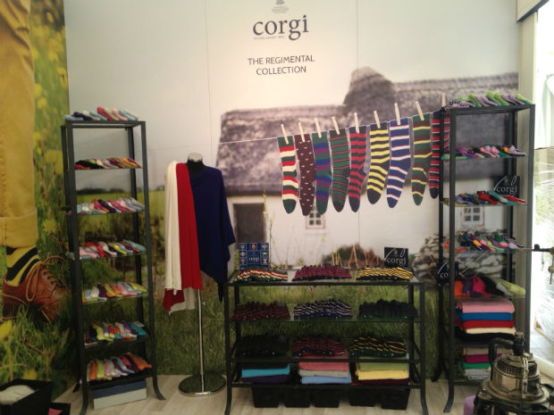 Visitors to the Coronation Festival will be able to purchase socks from the Regimental Collection. © Corgi