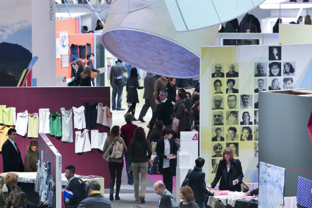 Eurovet is a subsidiary of the French Knitting and Lingerie Federation and the Comexposium group.© Première Vision