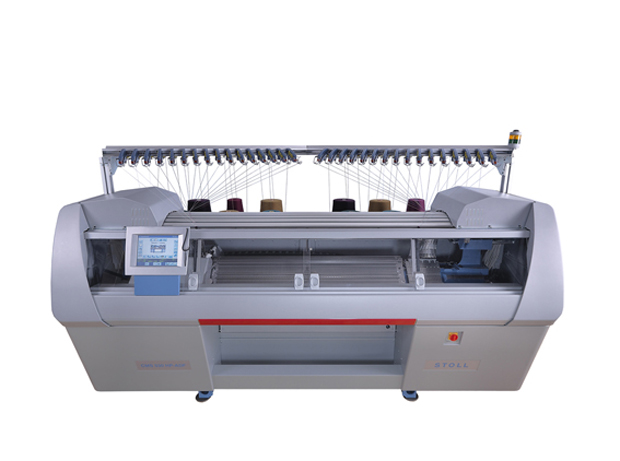 Stoll CMS530HP ADF - high technology flat knitting machine.