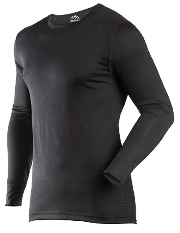 Fine-gauge, super stretchy 100% merino baselayer from Coldpruf. © Coldpruf