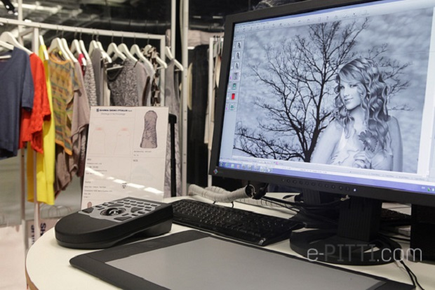 All the samples are designed and produced in Japan by Shima Seiki's team. © e-pitti.com