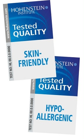 The Hohenstein quality labels