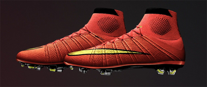 Nike Mercurial Superfly football boots. © NIKE INC.