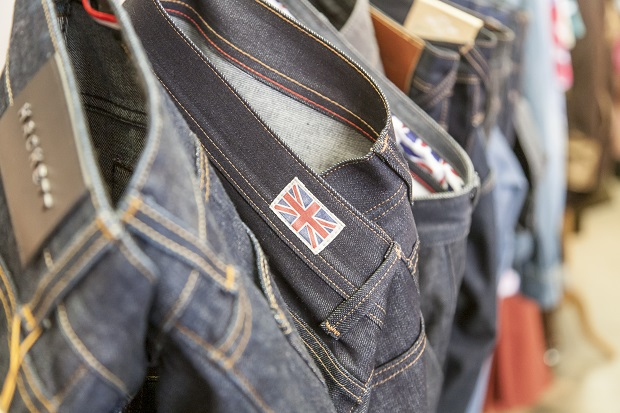 Fashionwear manufacturers demonstrated their commitment to garment production in Britain. © Make it British