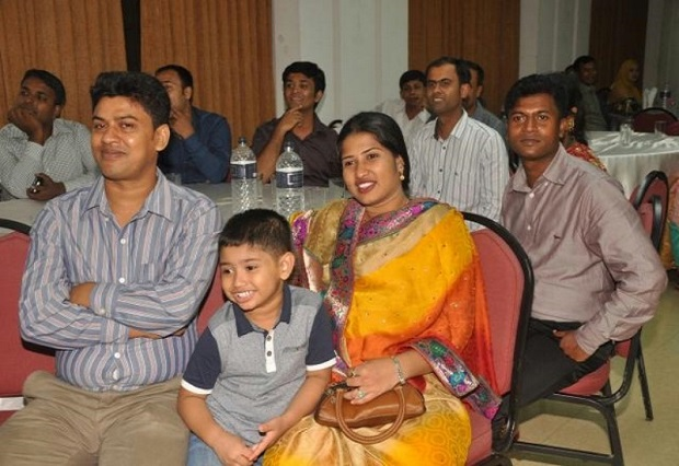 All 75 members of Hohenstein's contact office in Dhaka were invited with their families to attend the celebrations commemorating 10 year s of existence. © Hohenstein Institute
