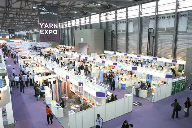 The fair will be held concurrently with Intertextile Shanghai Apparel Fabrics 2014, which runs from 20-23 October, and PH Value from 20-22 October, making buyers sourcing trips more complete.  © Messe Frankfurt / Yarn Expo Autumn edition