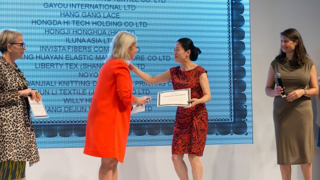 For the first time during Interfiliere Shanghai, the Interfeel' Awards were organised. © Interfiliere Shanghai / Shanghai Mode  / Shanghai Mode Lingerie