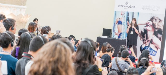 This edition featured the two training workshops. © Interfiliere Shanghai / Shanghai Mode Lingerie