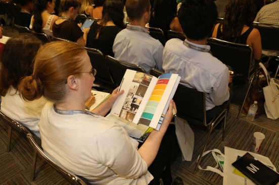The sessions cover a wide spectrum of industry topics. © Messe Frankfurt / Texworld USA edition