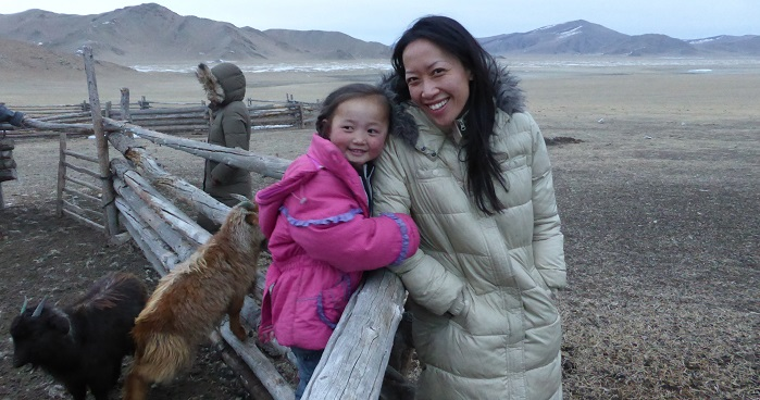 The idea behind Tengri was conceived by Nancy Johnston, a social entrepreneur, when she was travelling with friends and staying with herder families in Mongolia. © Tengri